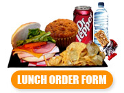 lunch order form